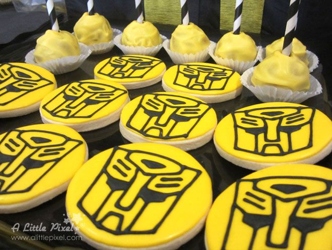 Transformers Bumble Bee Inspired Birthday Theme A Little