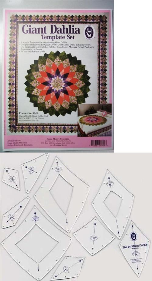 Quilt Templates and Stencils 116680 Marti Michell Mitchell Giant
