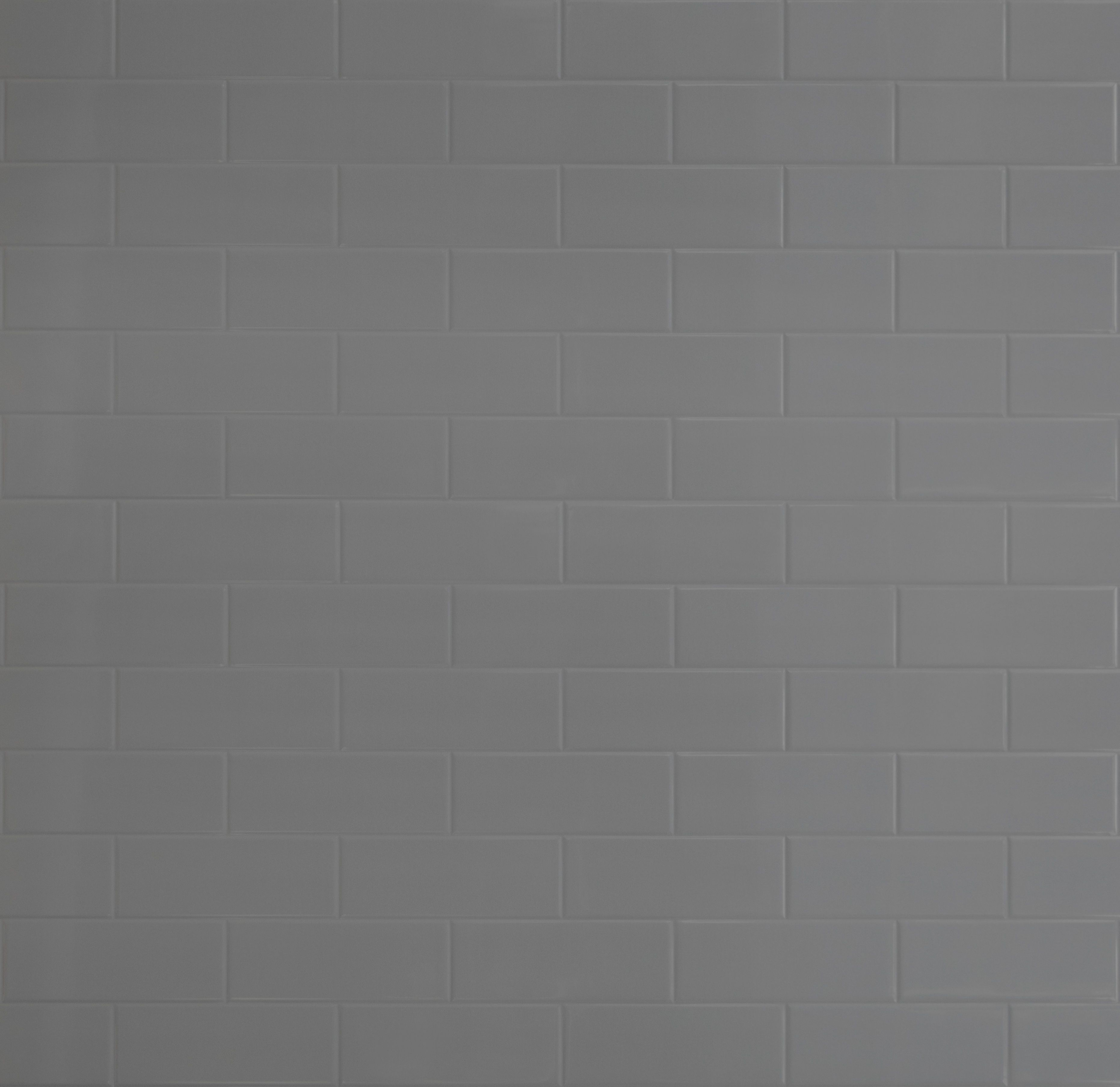New - Grey Brick Tile panel. Inspired by iconic tile ...
