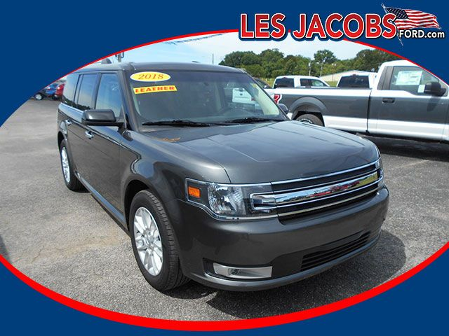 8771 2018 Ford Flex Sel Suv V6 Magnetic With Charcoal