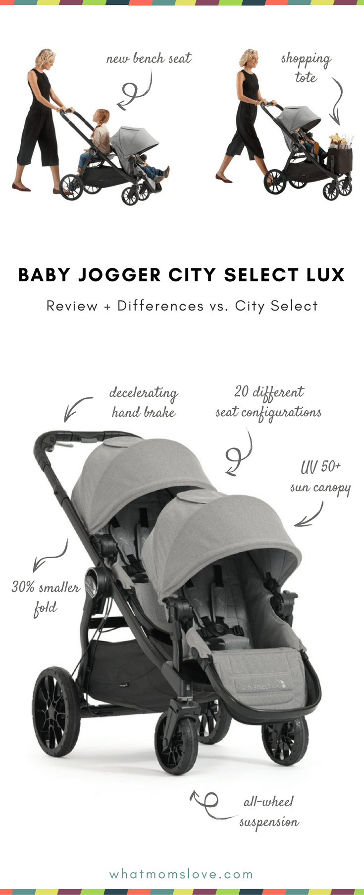 Baby Jogger City Select Lux Review The Super Adaptable Stroller