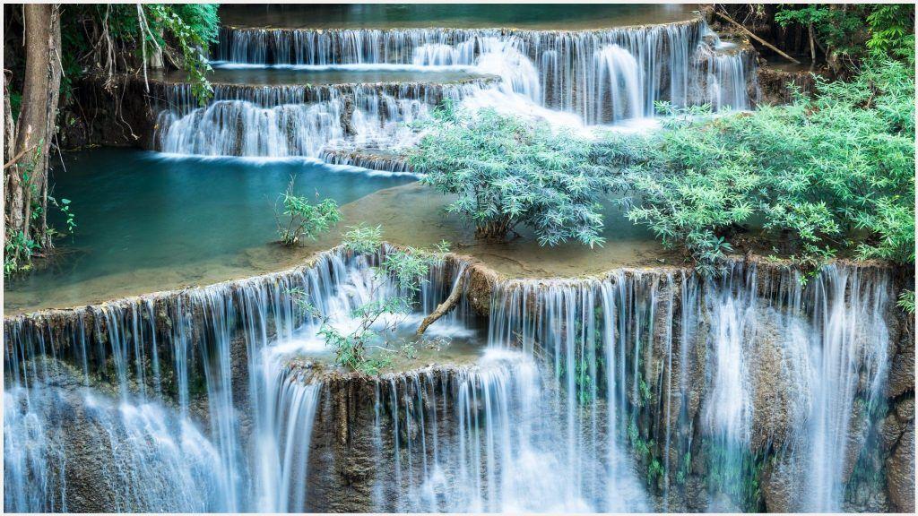 Waterfalls Beautiful Scenery Wallpaper