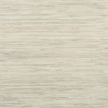 Grasscloth Wallpaper in Grey and Ivory design by York