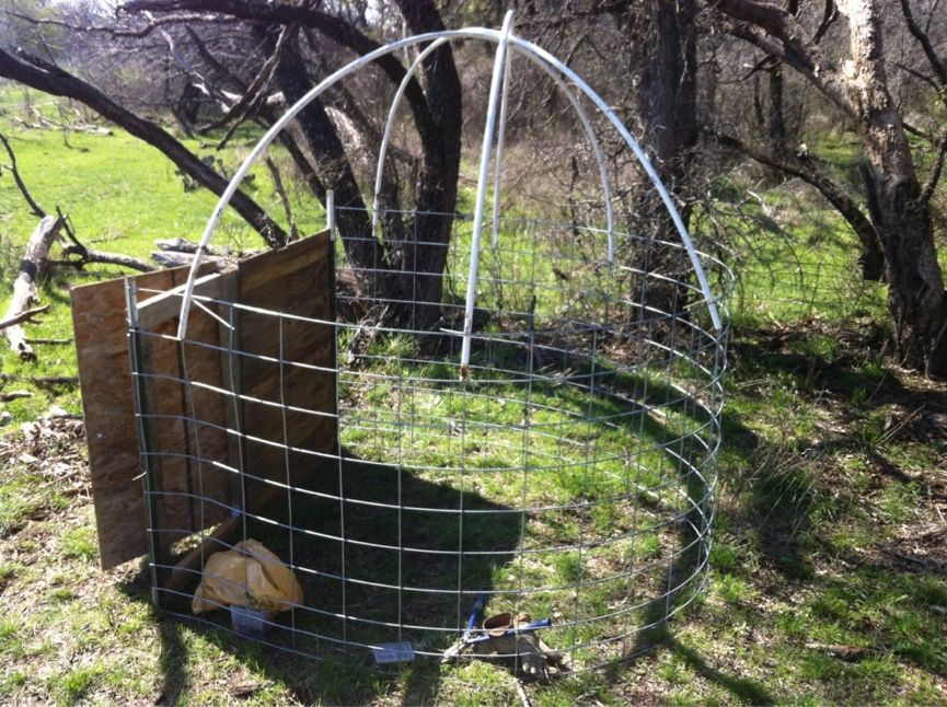 Hunting Blind Wire Panels 39 S One Using A Full