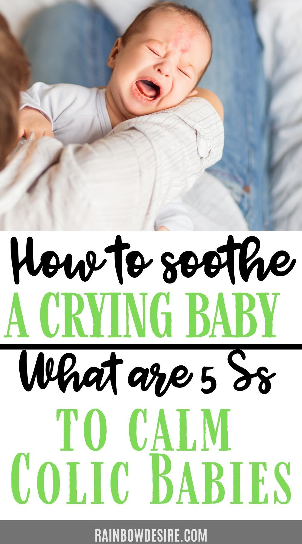 Colic baby or a fussy baby a perfect guide on how to