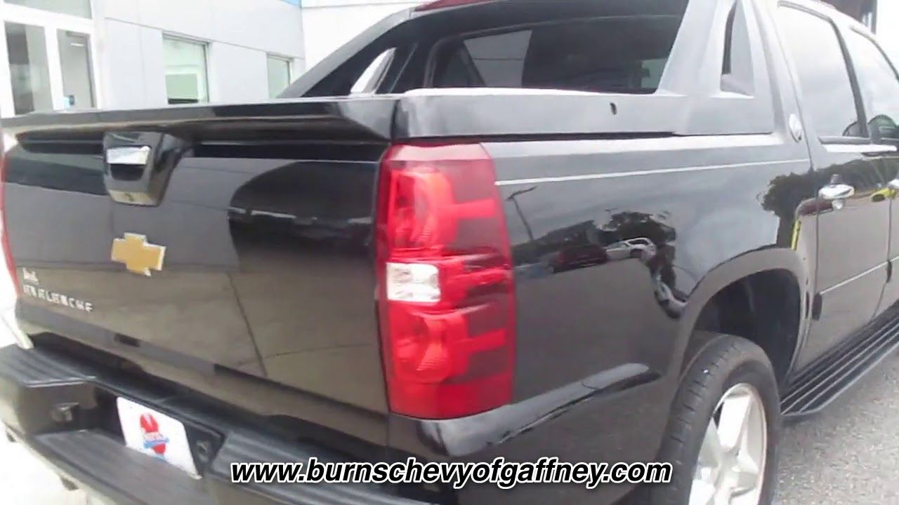 Used 2013 Chevrolet Avalanche 4wd Crew Cab Lt At Burns Chevrolet
