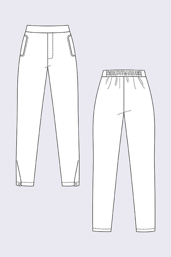 Ruri Sweatpants | Sewing Ideas | Pinterest | Sewing patterns, Sewing ...