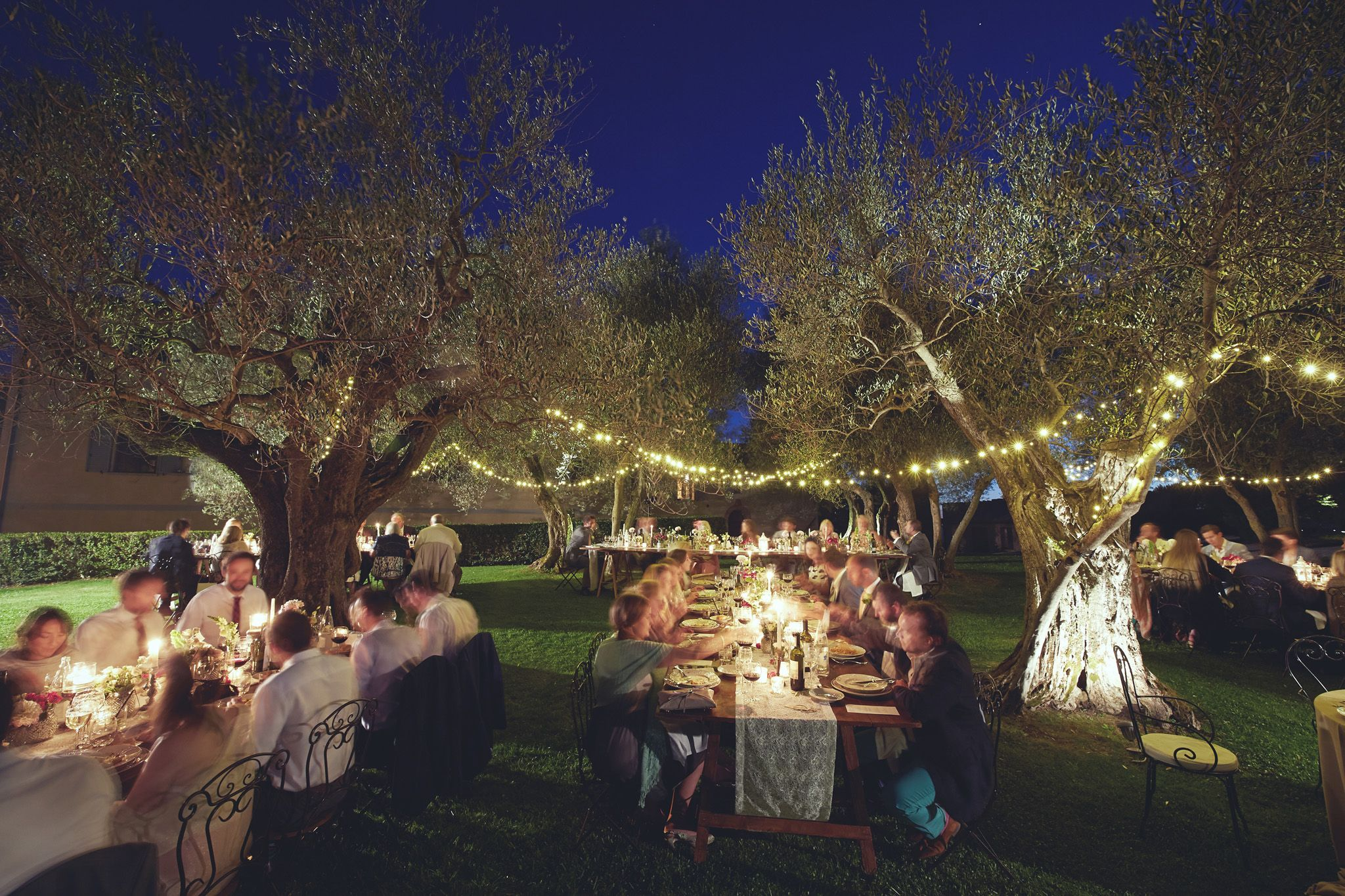 Wedding illumination wedding in tuscany outdoor elegance wedding illumination should not be forgotten candles lanterns fairy lights uplight spots create a special atmosphere in any kind of space aloadofball Gallery