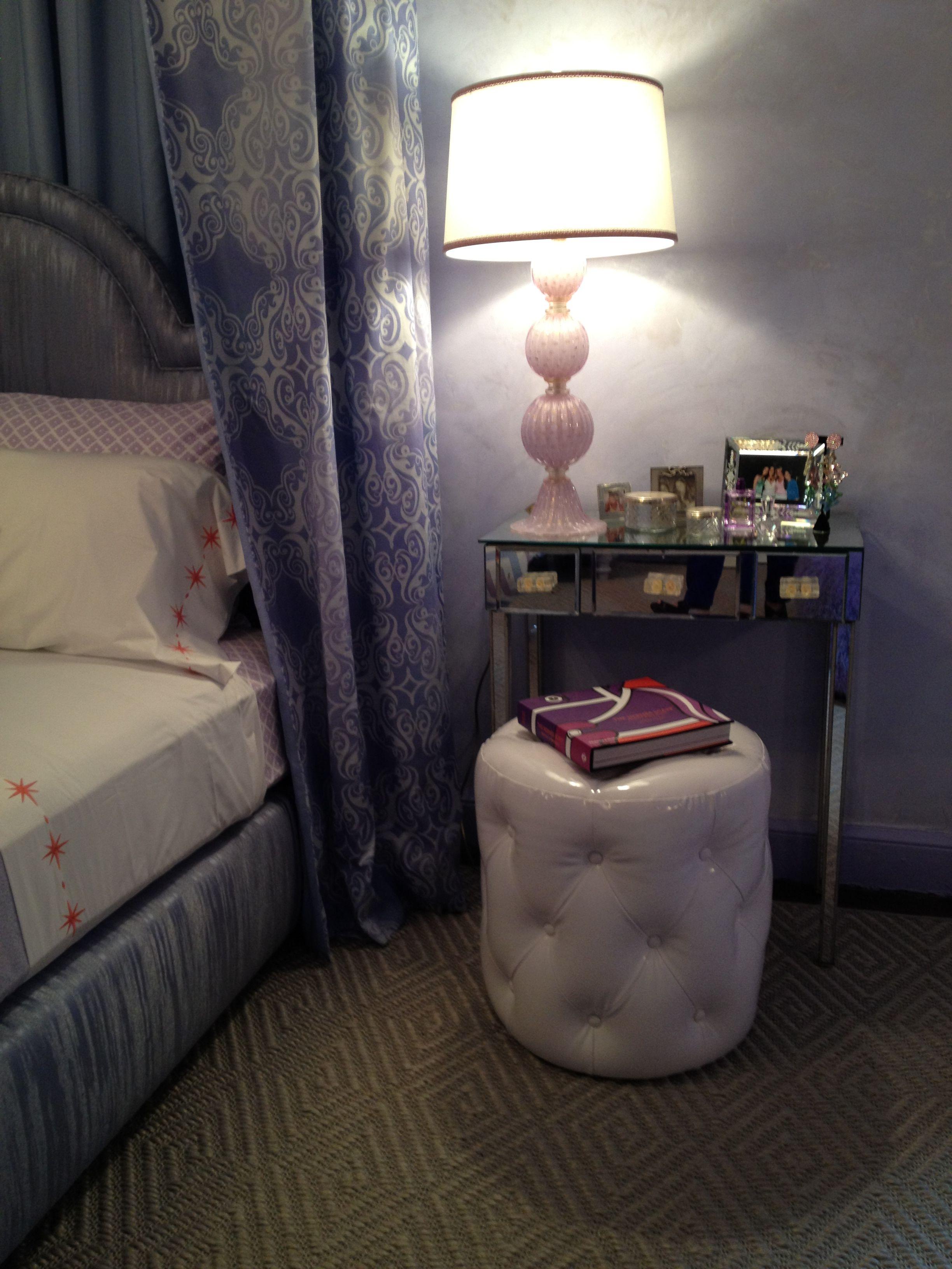 purple, teen bedroom, Stark carpet, chevron, levander