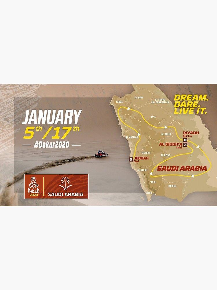 Logo Dakar 2020 Arabie Saoudite Qualite Hq Par Alexair Dakar Saudi Arabia Logos
