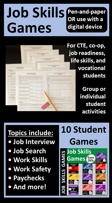 Pin on Fun Career Games, Puzzles, and Activities