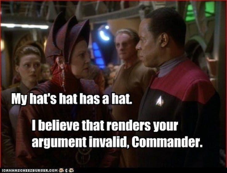 18 Star Trek Memes That Show Deep Space Nine Makes No Sense Star Trek Quotes Star Trek Funny Star Wars Quotes