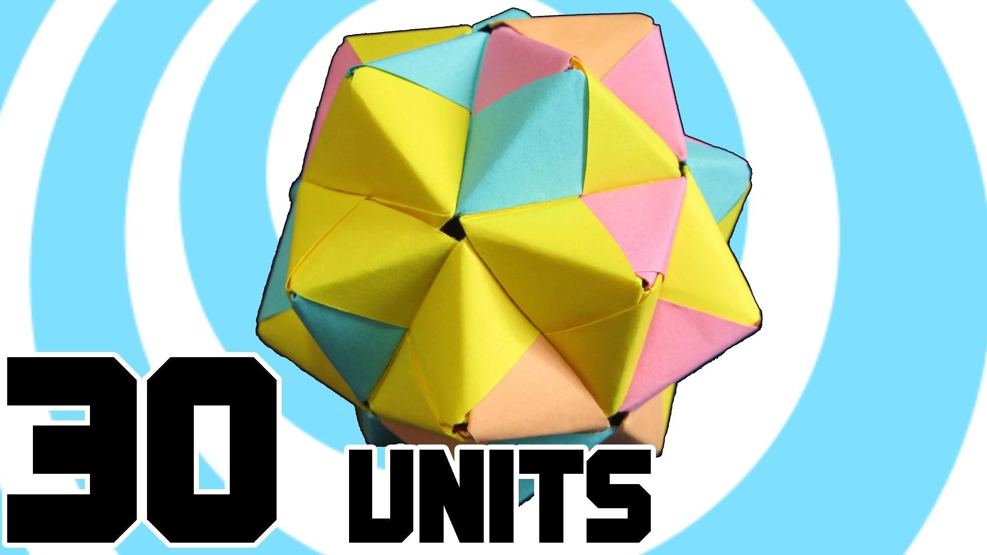 How to make modular origami icosahedron from 30 sonobe units how to make modular origami icosahedron from 30 sonobe units jeuxipadfo Gallery