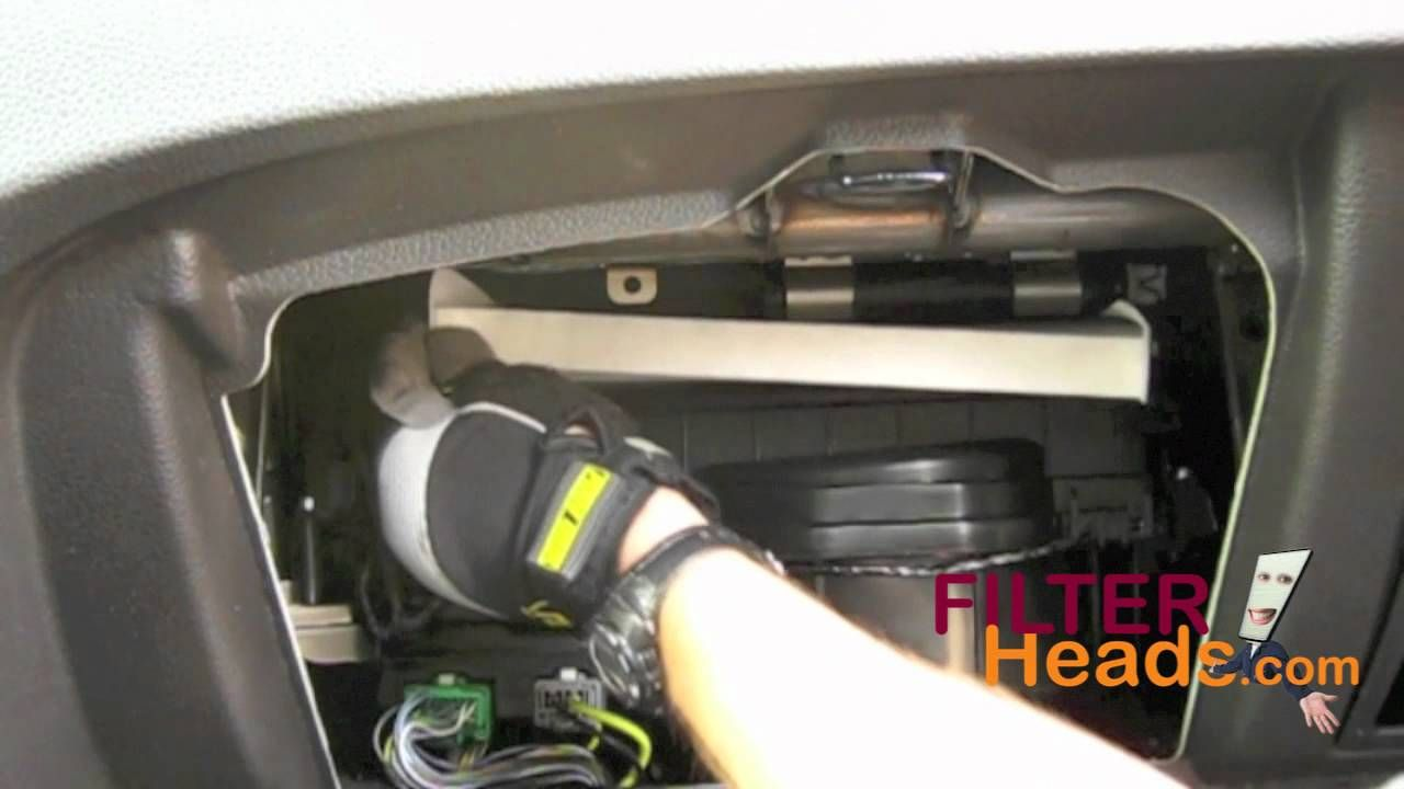 hight resolution of cabin air filter replacement ford fusion