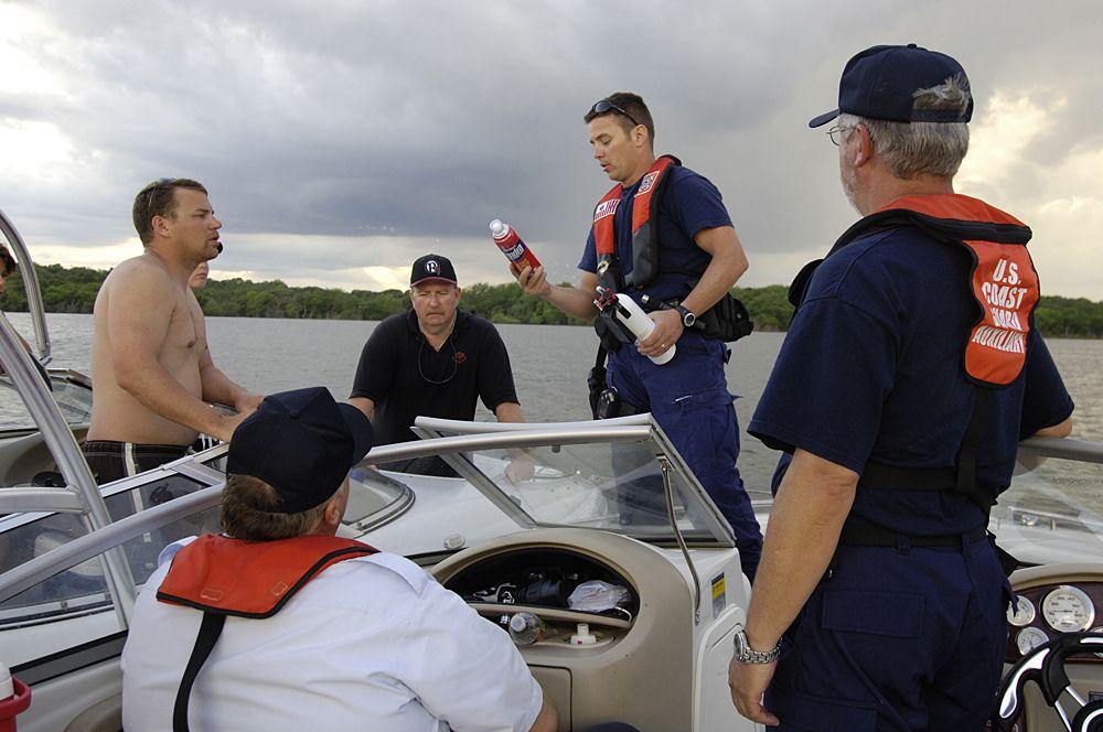 Boating safety equipment boat safety fishing pontoon