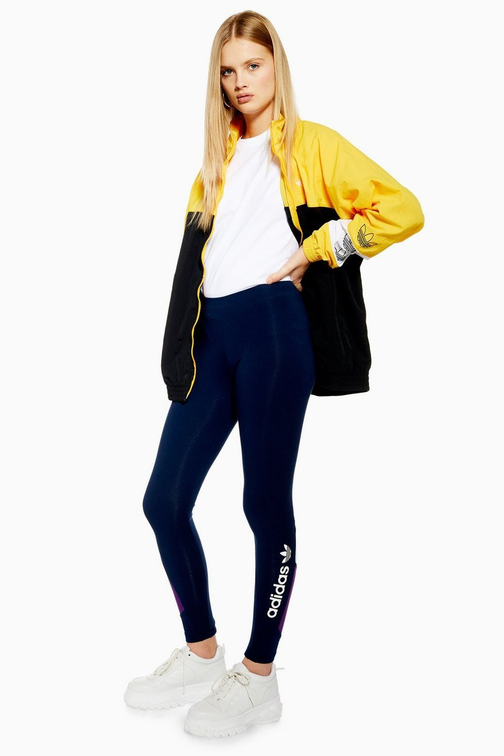 434a92202869ce Logo Leggings by adidas - Trousers & Leggings - Clothing - Topshop Europe