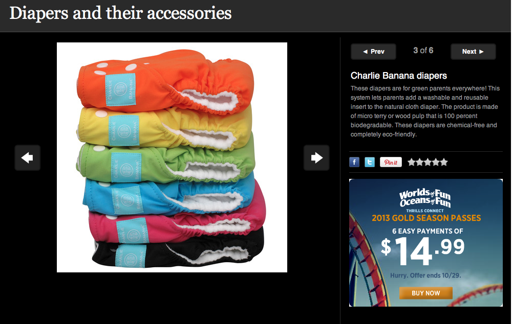 Look at that gorgeous rainbow of Charlie Bananas featured on @SheKnows!