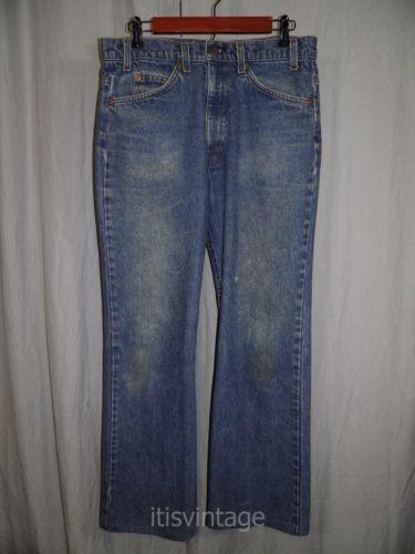 Vintage 80's Levi's 517 Orange Tab Jeans QQGZZrbrd
