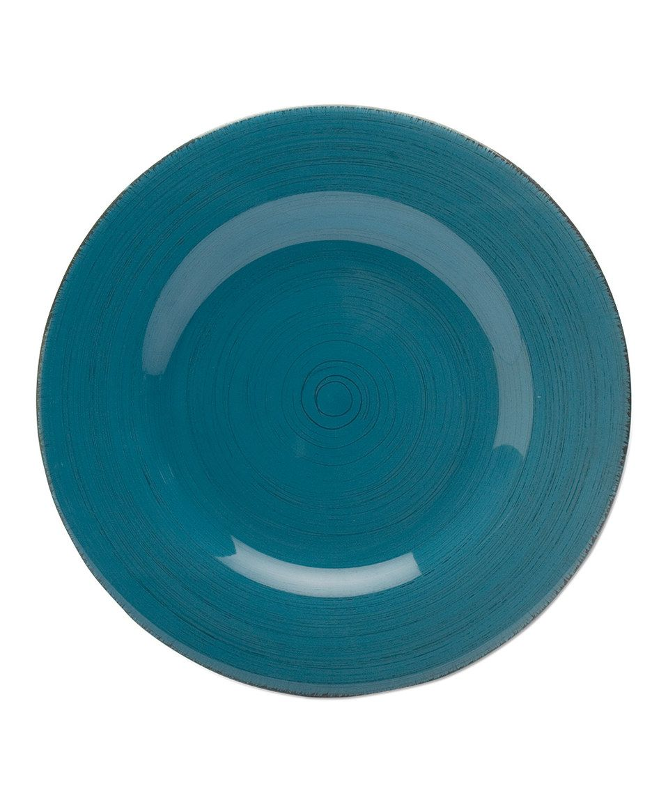 Another great find on #zulily! Turquoise Sonoma Dinner Plate - Set of Four by tag #zulilyfinds