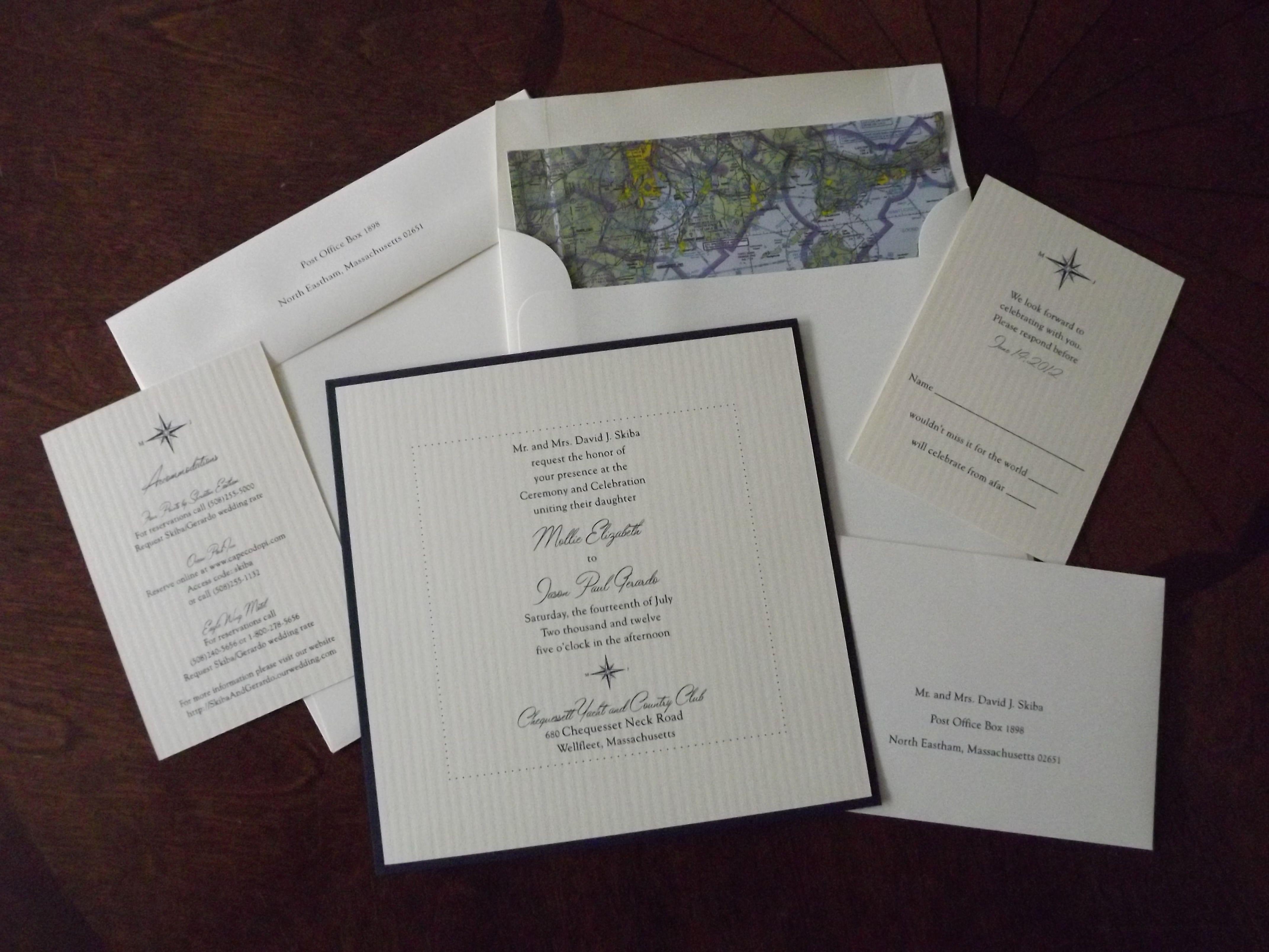 Wedding Invitation Vendor Lady Slipper Stationery