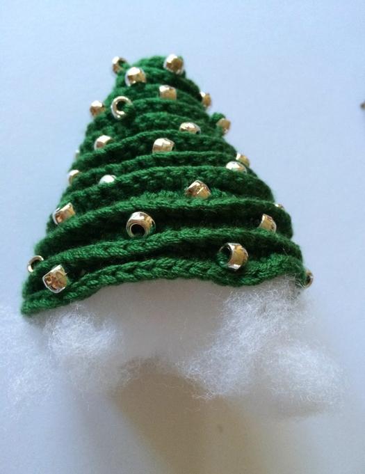 Arboles de Navidad Cadenetas de Crochet - Patrones Crochet | Nadal ...
