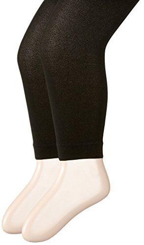 Danshuz Little Girls Black Super Soft Stretchy Nylon-Micro Spandex Tights 2-6