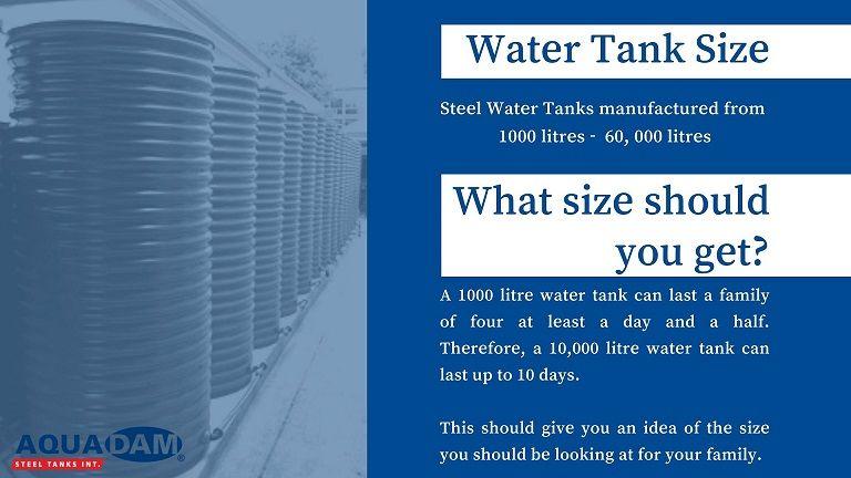 Rainwater Harvesting Corrugated Zincalume Tank Aquadam Rainwater Harvesting Steel Water Tanks Rainwater