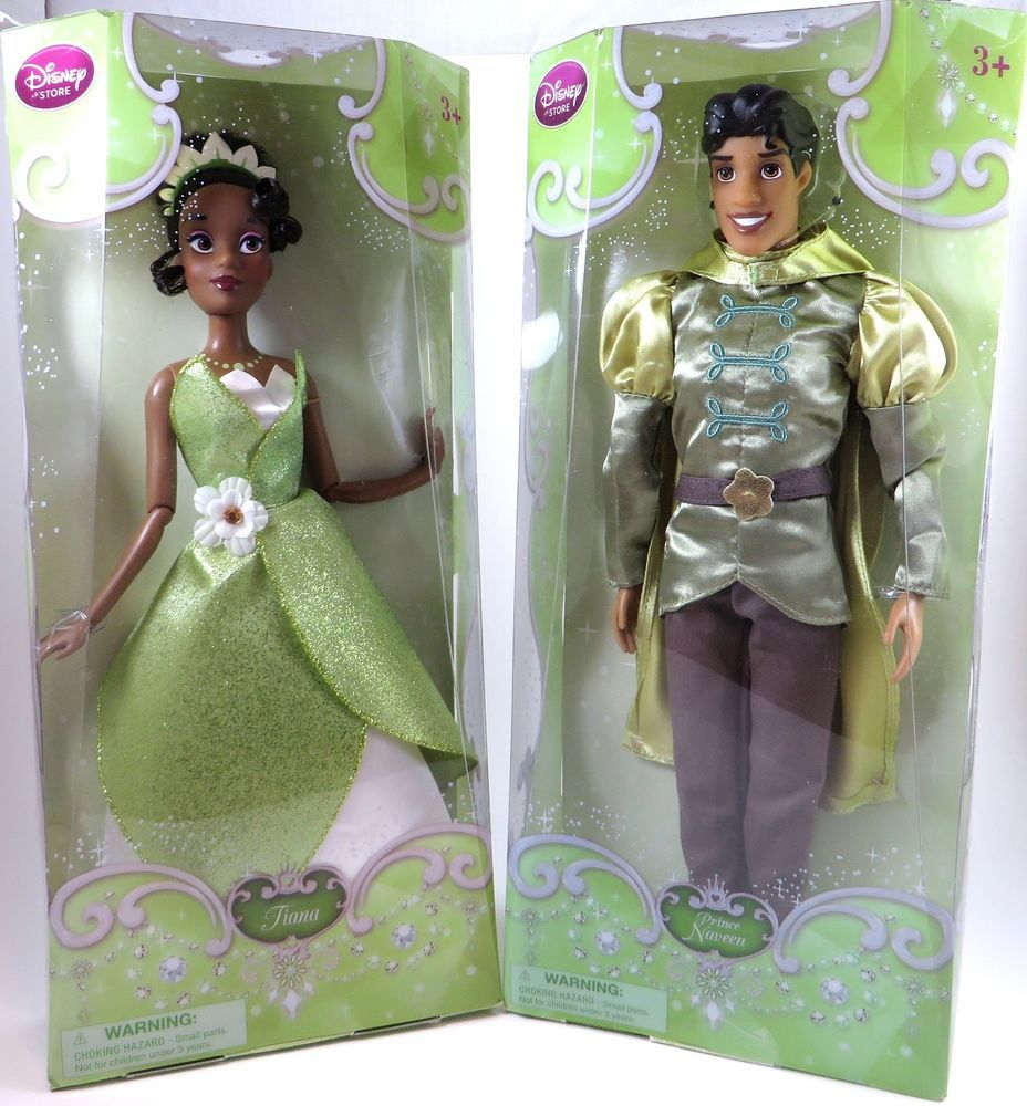 NIB Disney Parks Princess Tiana Doll
