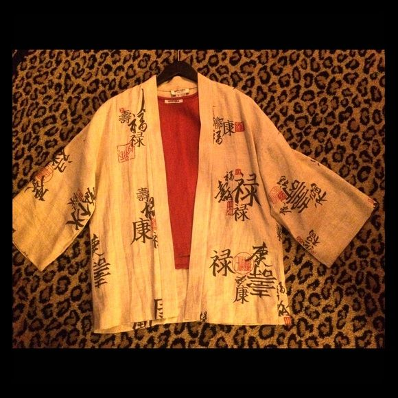 Bundle!Nira Nira NY Mandarin linen shell & jacket Linen rustic orange shell. Size small. Linen mandarin art open jacket. Size small Nira Nira Jackets & Coats