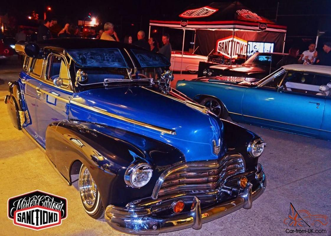 Custom Lowrider Cars for Sale | 46 Chevrolet Fleetmaster Lowrider ...