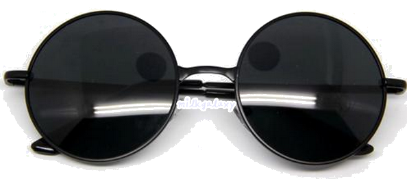 Black Round Glasses via m i l k g a l a x y. Click on the image to see more!
