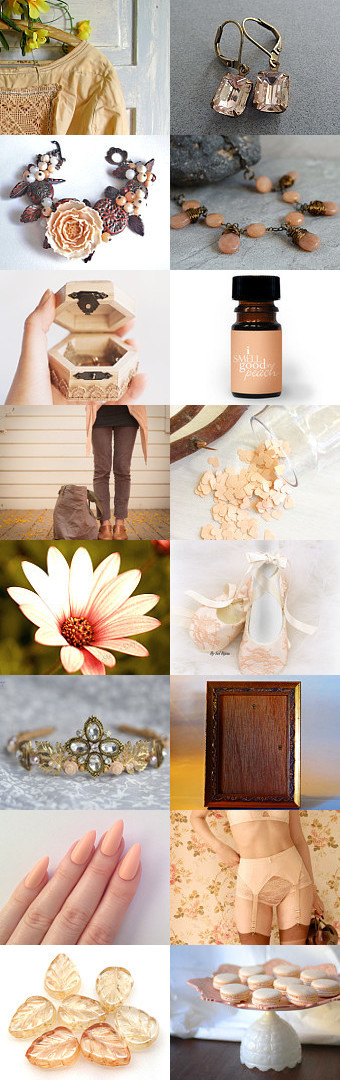Peach Dreams  by Robin on Etsy--Pinned+with+TreasuryPin.com  #peach #wedding #rest