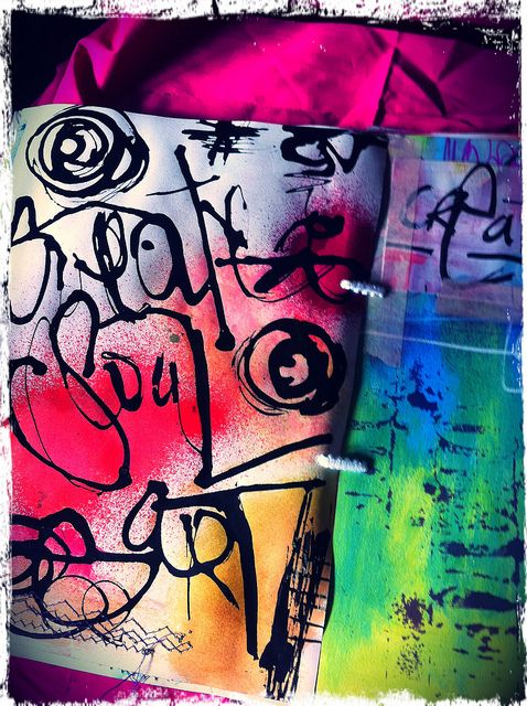 Art Journaling by Vanessa Colant