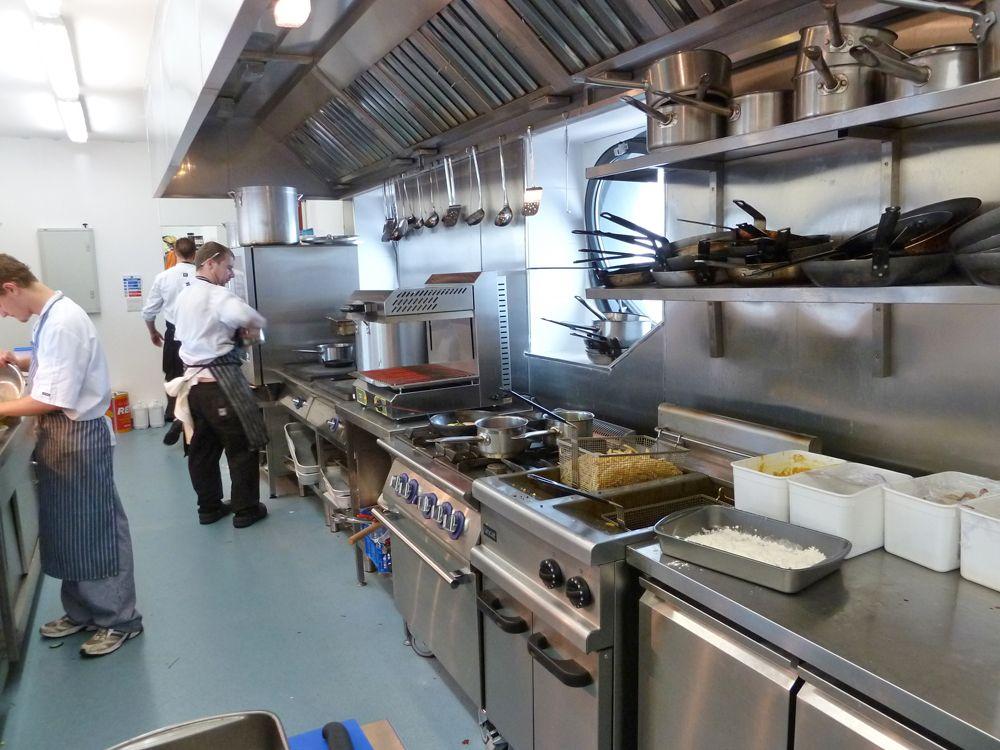 Gemütlich Und Chic Gewerbliche Küche Layout Design Küche wäre eine ...