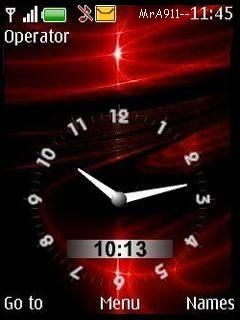 Download free A-2-Z Clock Mobile Theme Nokia mobile theme