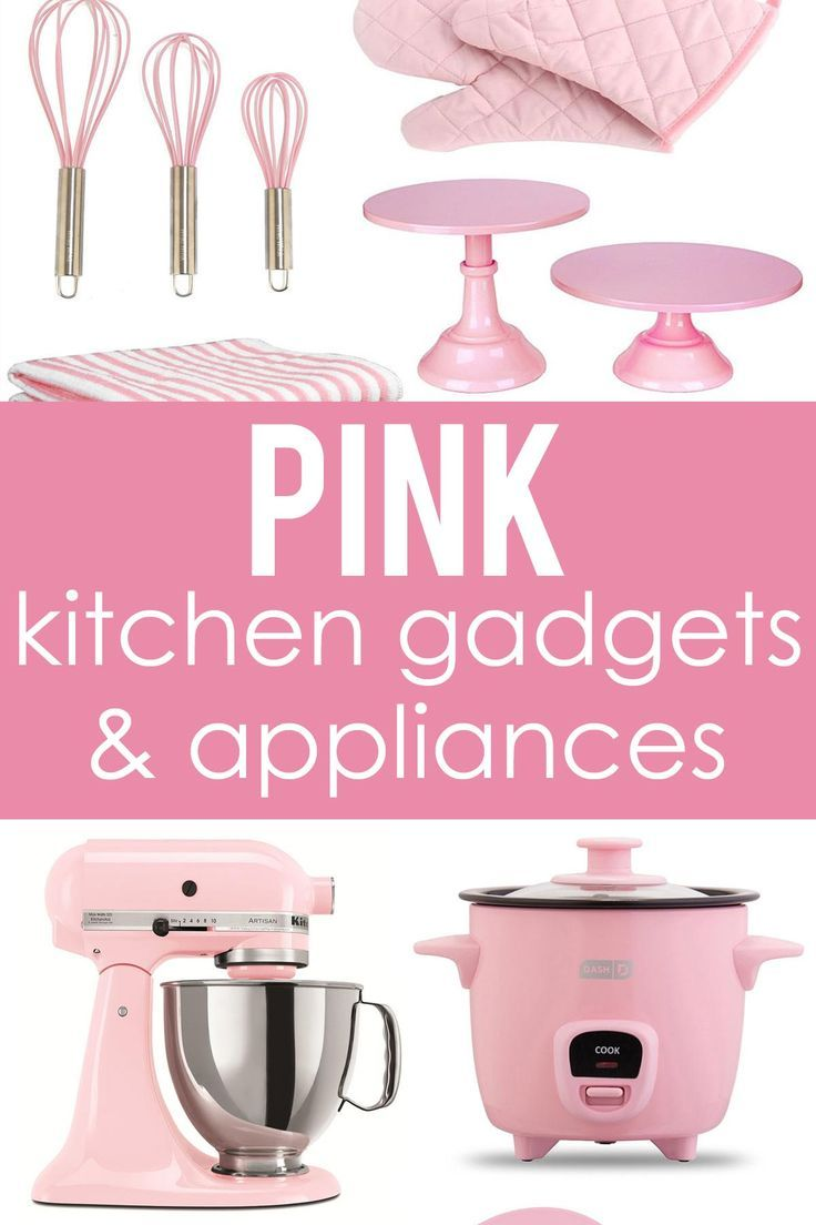 Pink Kitchen Gadgets & Appliances - How to Nest for Less™