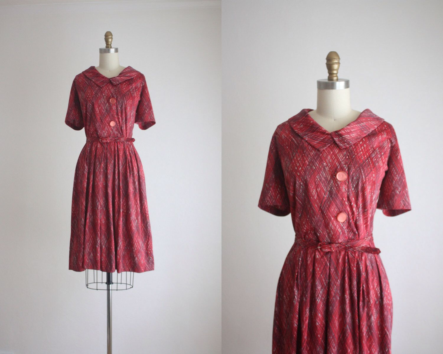 1960s marionberry shirtdress by 1919vintage on Etsy https://www.etsy.com/listing/469262464/1960s-marionberry-shirtdress