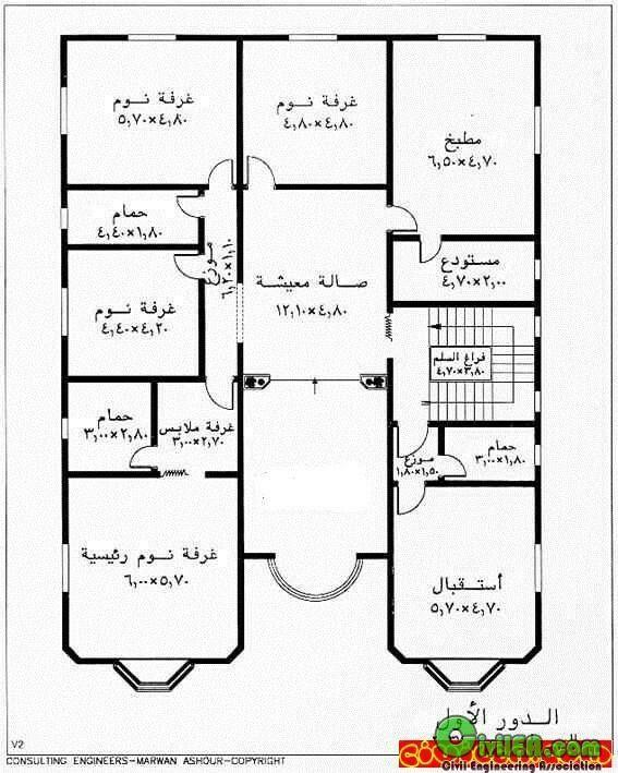 مخططات مخطط فلل فلة عماير عمارة شاليهات شالية منتجعات إنشاء مباني تصميم وهندسة معمارية معما Family House Plans House Floor Design Floor Plan Design