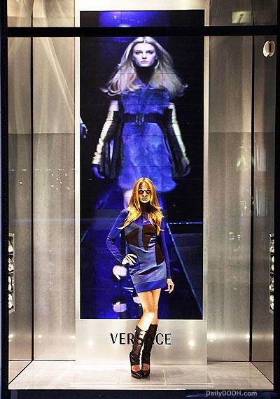 As a visual merchandising major, I love this window display. There is something so refreshing in the realistic-ness of this display. The colors are simples with great contrast with the bright cerulean against the steel.