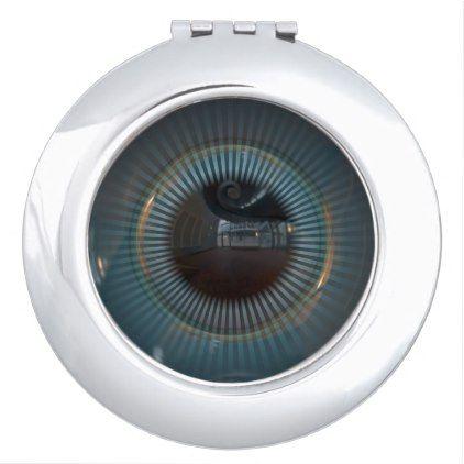Robotic Eye 1 Makeup Mirror | Zazzle.com | Mirror, Makeup ...