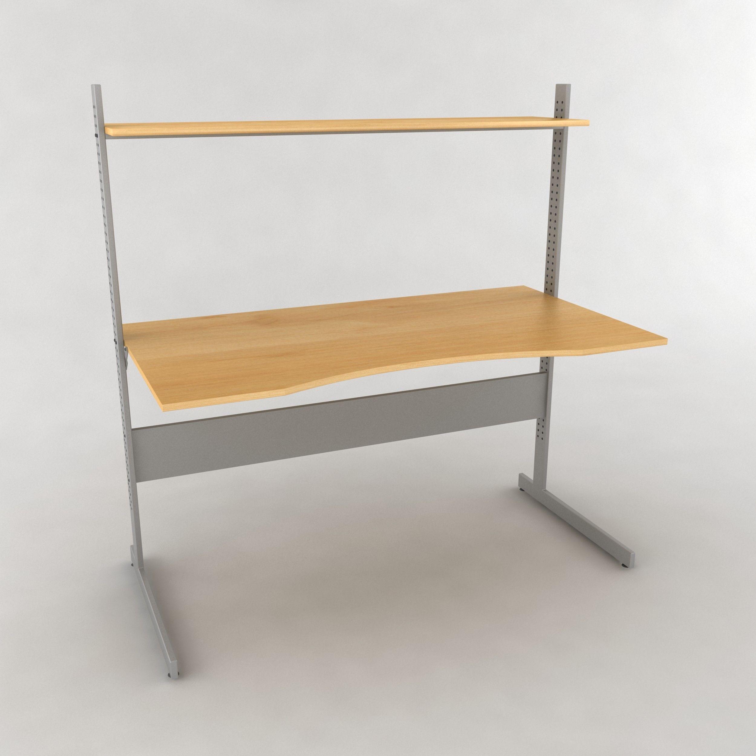 3d Ikea Jerker Desk 3d Model Ikea Jerker Ikea Ikea Desk