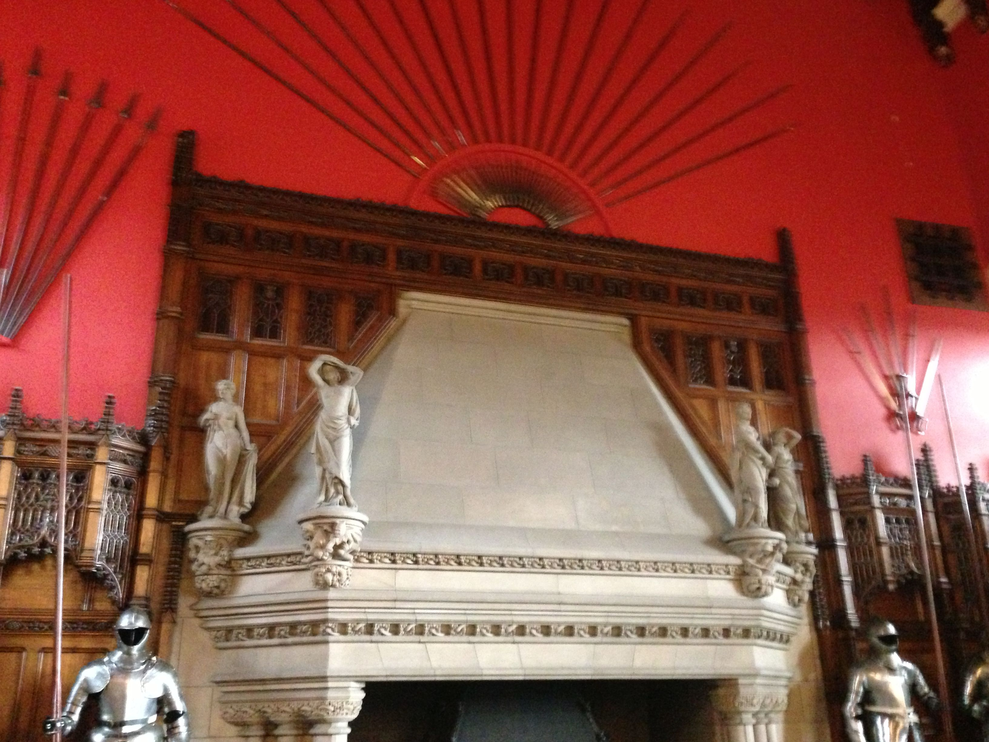 edinburgh castle fireplace great hall fireplaces pinterest hall