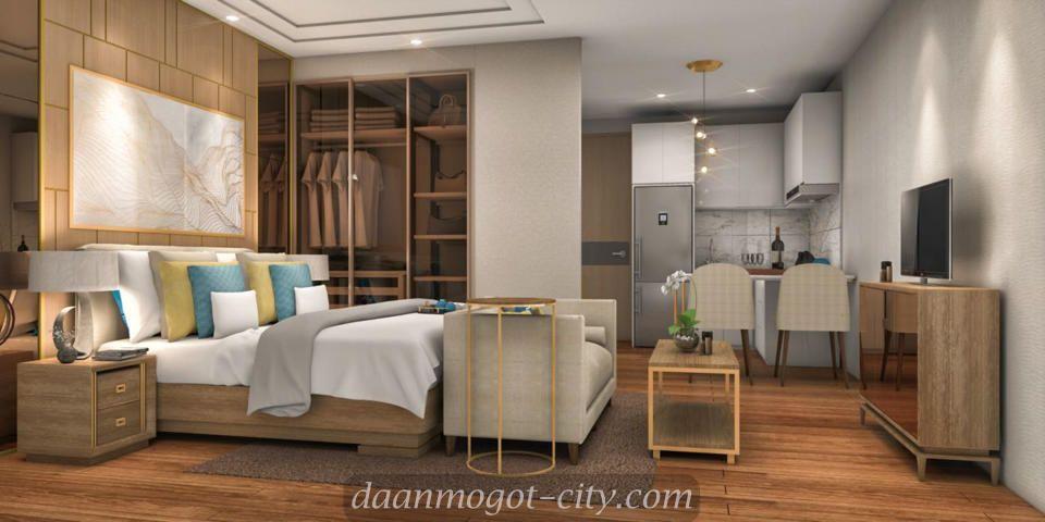Interior Design Kamar Apartemen DAMOCI Jakarta