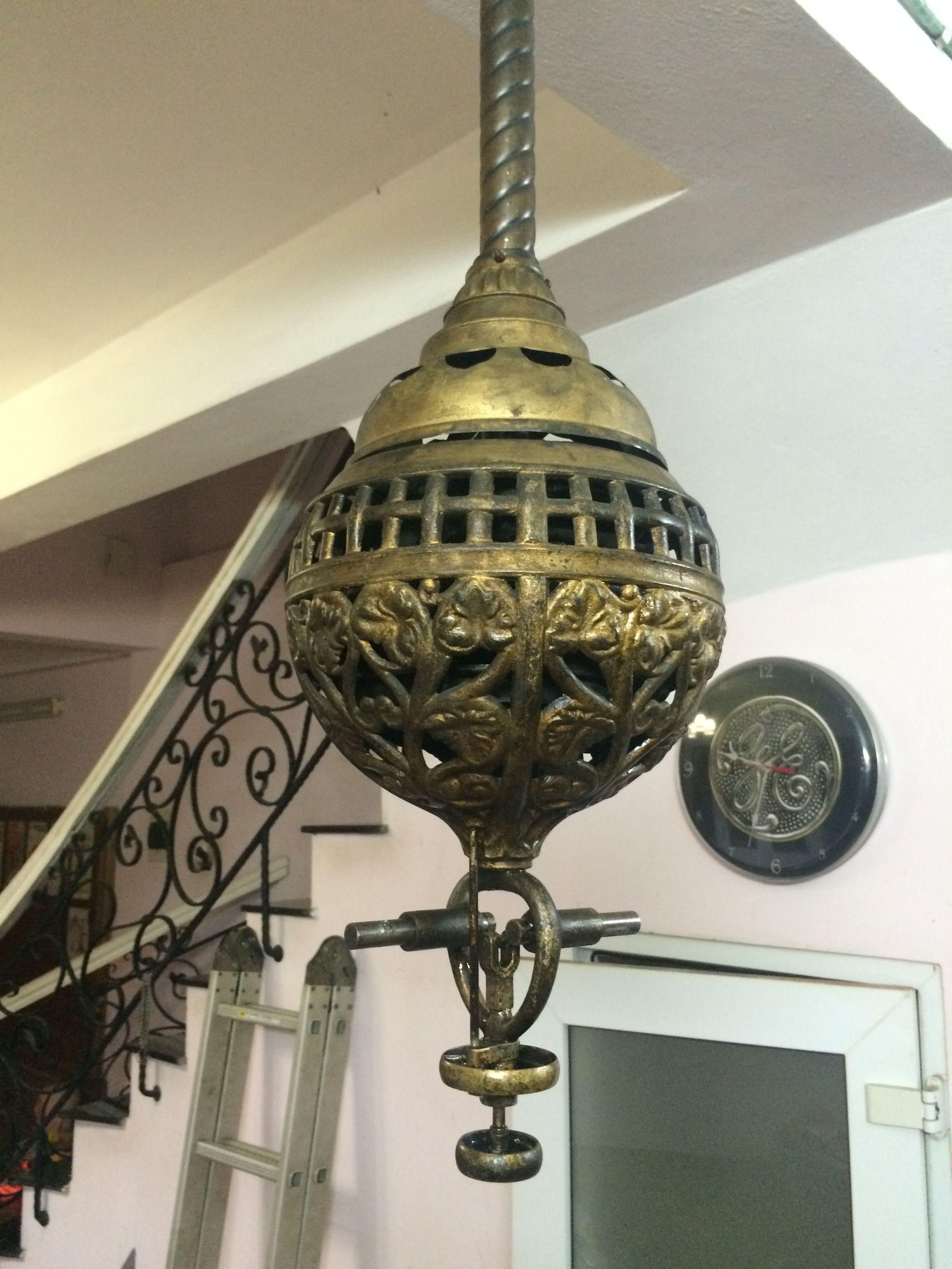 Hunter Tuerk Ceiling Fan Rare Ca 1886