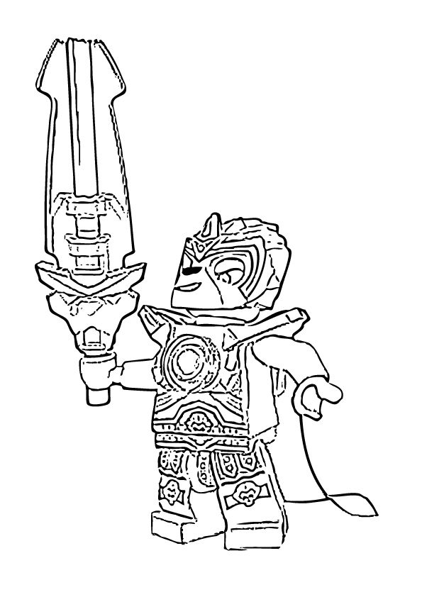 LEGO Chima Coloring Pages Printable | Lego chima colouring pages ...