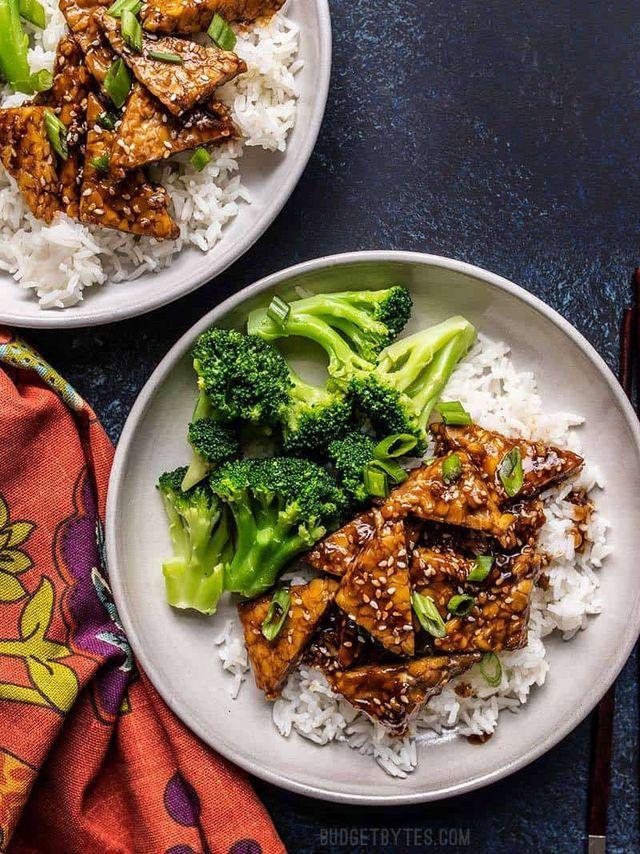 Sesame Tempeh Bowls Budget Bytes Bon Appetit Vegan