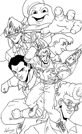 Pin By Mary Paschal On Misc Coloring Pages Cool Coloring Pages Ghostbusters