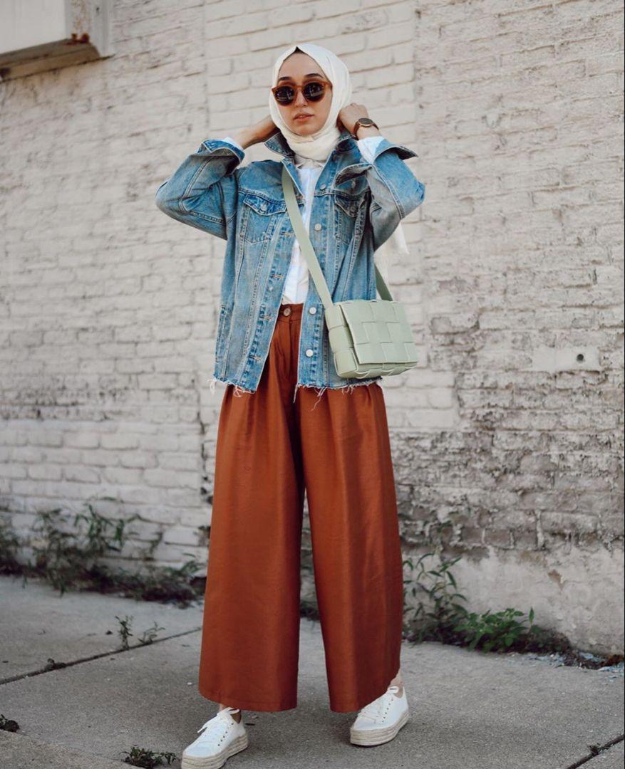 Hijab Fashion Chic Pant Outfits Ideas To Copy Zahrah Rose Hijab Fashion Summer Hijab Fashion Inspiration Hijabi Fashion Casual