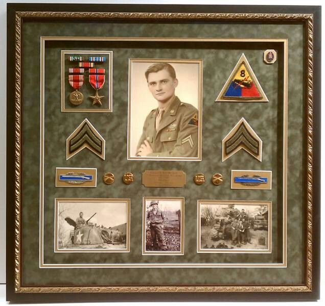 Shadowbox Military Display Preserve, Military Picture Frames Army