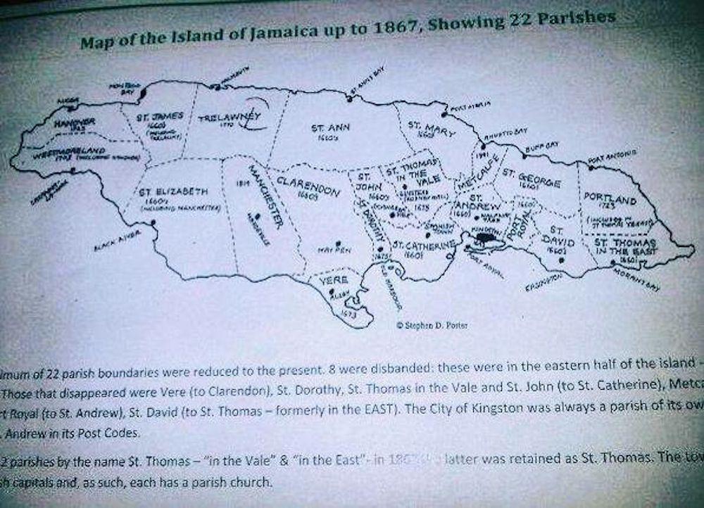 old map  Jamaicas Black History Vintage to Present  Pinterest